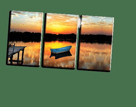 footer foto metacrilato triptico ejemplo barca