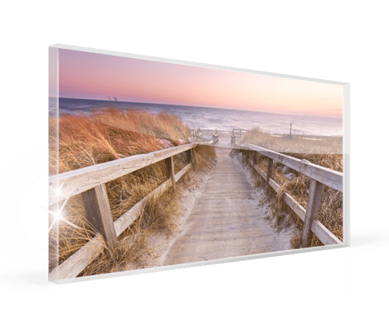 foto metacrilato panoramica ejemplo playa