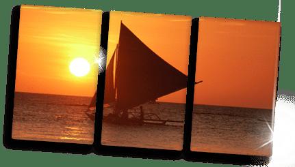 ideas foto metacrilato triptico ejemplo velero
