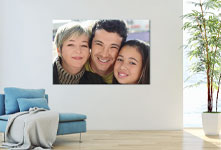 salon foto metacrilato ejemplo familia