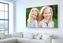 salon foto metacrilato ejemplo hermanas naturaleza