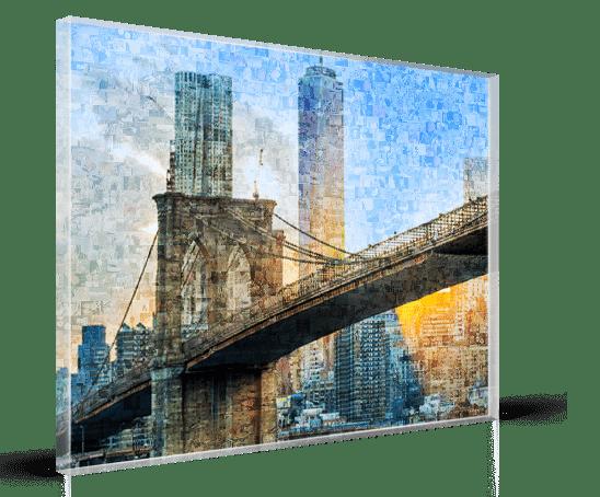 vista acrilico mosaico